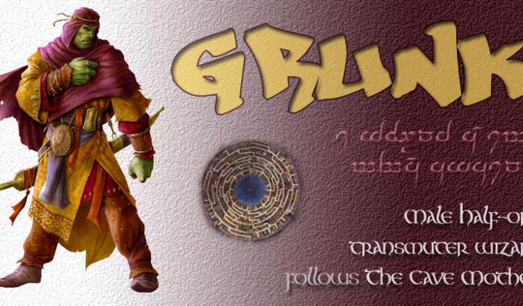 Grunk-card